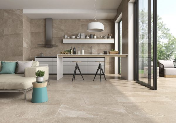 Saloni Ardesia Avorio from the tile company