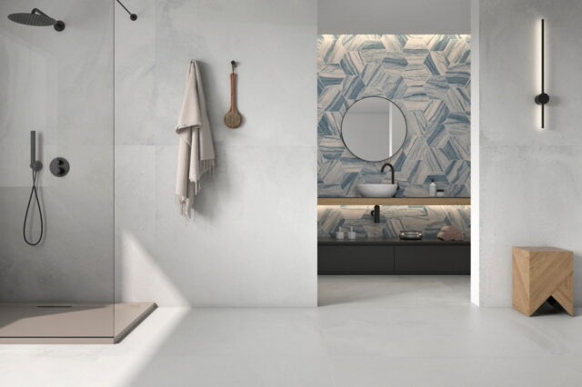 Geotiles - Dalston Series Installed