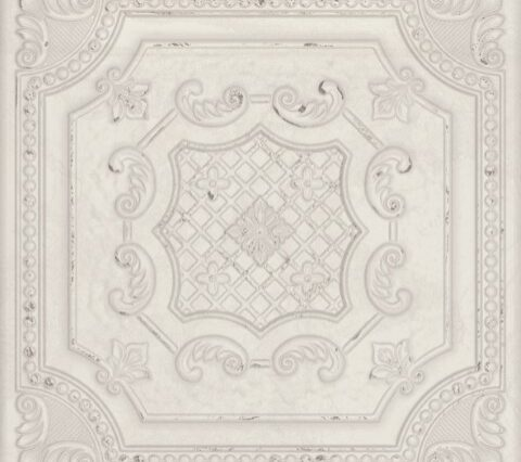 Gatsby White Tin by The Tile Company