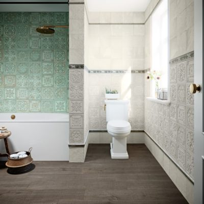Gatsby Green Tin from the Tile Company